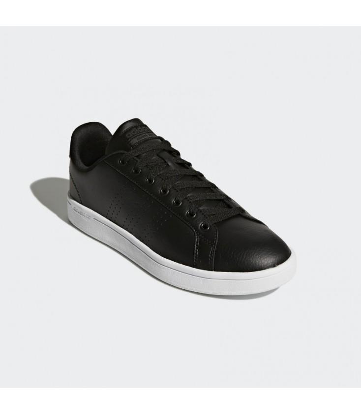 Adidas Cloudfoam Advantage Clean Erkek Siyah Tenis Ayakkabısı AW3915