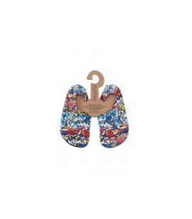 Slipstop Hiphop Çocuk Çocuk Havuz Ve Deniz Ayakkabısı Mavi SS17110188