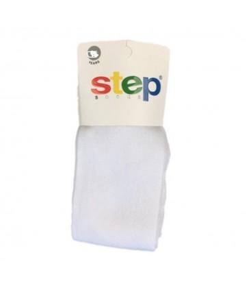 Step Kız Çocuk Cotton Külotlu Çorap Beyaz 3235