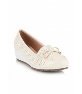 Hotiç Yaya Bej Kadın Dolgu Topuklu Ayakkabı 01AYY116170A310