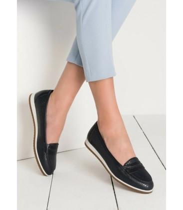 Derimod Lacivert Kadın Ayakkabı 18SFE192126