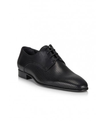 Hotiç Hakiki Deri Siyah Erkek Casual Ayakkabı 02AYH117380A100