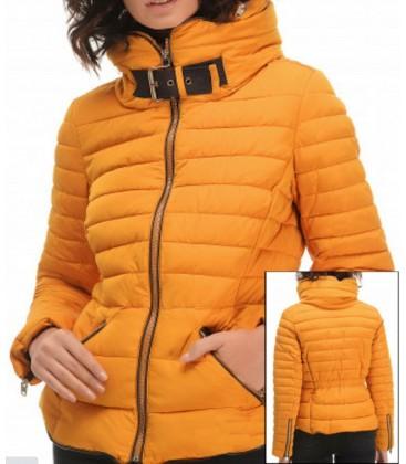 Zara Kadın Sarı Şişme Mont 8073 226
