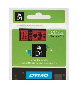 Dymo D1 Siyah Beyaz Yedek Şerit, 9 mm x 7 mt 40913