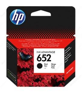 HP 652 Orjinal Siyah Mürekkep Kartuşu F6V24AE