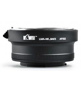 Kiwifotos Panasonic Ve Olympus Micro 4/3 için Nikon G Lens Adaptörü