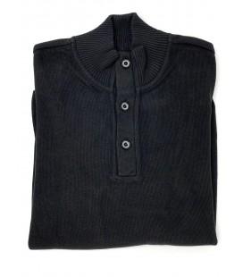 İmza Erkek Siyah Düğmeli Dynamic Fit Kazak 1013155005-001