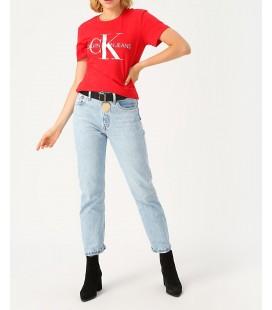 Calvin Klein Kadın Kırmızı Tişört ZW0ZW01192