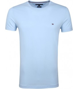 Tommy Hilfiger Lightblue Erkek T-shirt XM0XM01220