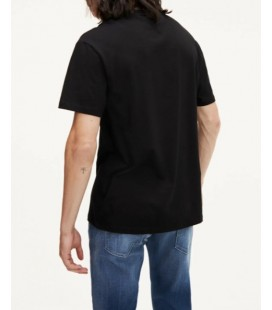 Tommy Hilfiger Siyah Erkek T-shirt XM0XM01220