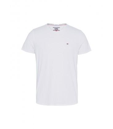 Tommy Hilfiger Beyaz Erkek T-shirt XM0XM01220