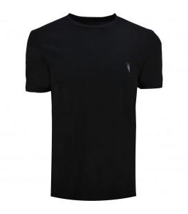 All Saints Erkek Bisiklet Yaka Siyah T-Shirt 303211R