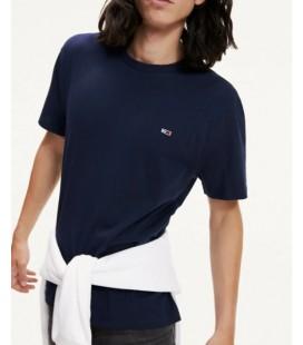 Tommy Hilfiger Lacivert Erkek T-shirt XM0XM01220