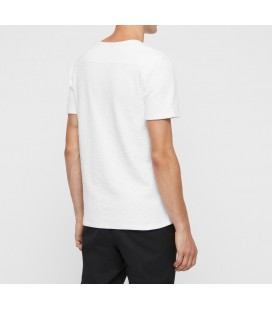 All Saints Muse Erkek Kısa Kollu Beyaz T-Shirt