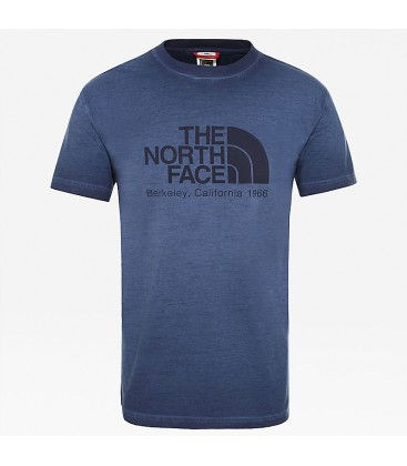 The North Face Washed Berkeley Erkek Tişört Mavi NF0A3XZ2