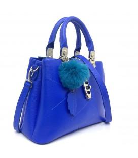 California Forever Mavi Kadın Deri Çanta BG96021-3665