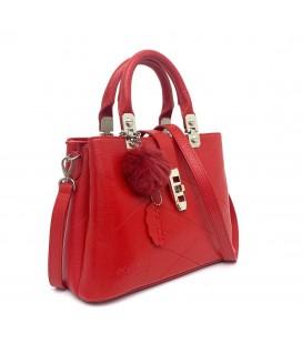 California Forever Kırmızı Kadın Deri Çanta BG96021-2953