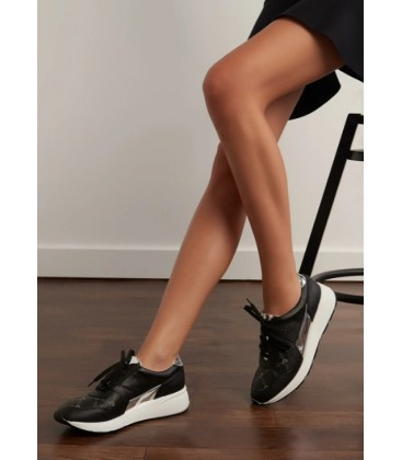Pierre Cardin Siyah Kadın Sneaker DSMSS18555