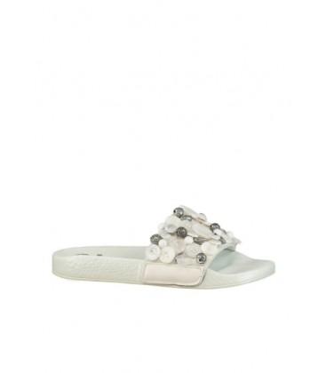 Elle Shoes Debora Beyaz Kadın Terlik 17YBB557