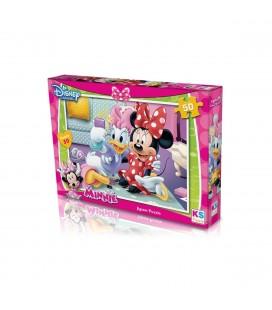 KS Games Minnie Mouse Puzzle 50