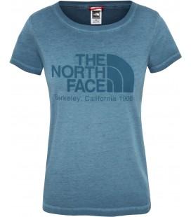 The North Face Washed Blue Coral Kadın Tişört NF0A3XZKEFS