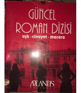 Güncel Roman Dizisi Aşk Cinayet Macera 12 Kitap