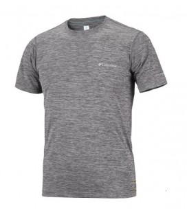 Columbia Erkek T-shirt AM6084-469 Açik Mavi Gri