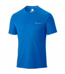 Columbia Tişört AM6084-431 Mavi Erkek T-shirt