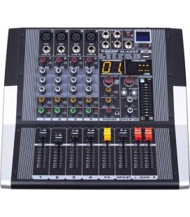 D-Sound M-400P 4 Kanal Power Mixer