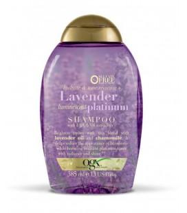 OGX Sarı Saçlar İçin Renk Koruyucu Lavender Platinum Şampuan 385 ml
