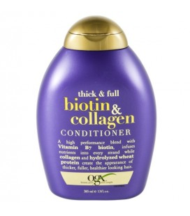 Organix Biotin and Collagen Conditioner 385ml Saç Bakım Kremi 385 ml