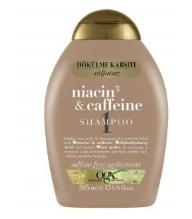 OGX Dökülme Karşıtı Niacin & Caffeine 385 ml Şampuan