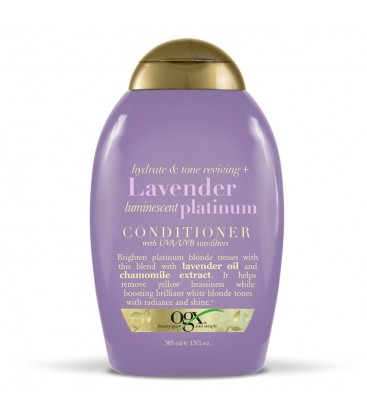 Organix Lavender Luminescent Platinum Conditioner Şampuan 385ml