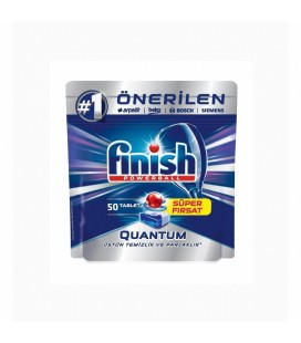Finish Quantum 50 Tablet Bulaşık Makinesi Deterjanı Finish Powerball