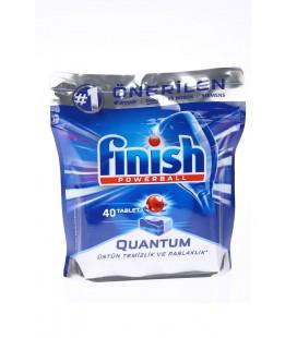 Finish Quantum 40 Tablet Bulaşık Makinesi Deterjanı Finish Powerball