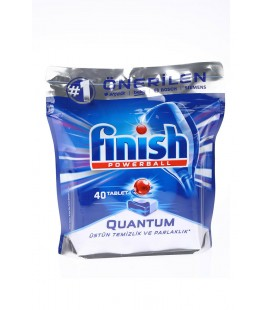 Finish Quantum 40 Tablet Bulaşık Makinesi Deterjanı Finish Powerball