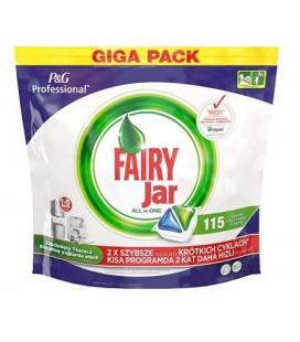 Fairy P&G Professional Jar Hepsi Bir Arada 115'li Bulaşık Makinesi Kapsülü