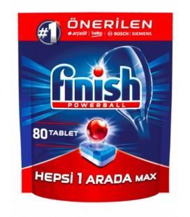 Finish Hepsi Bir Arada 80'li Bulaşık Makinesi Tableti