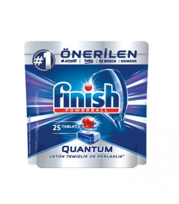 Finish Quantum 25'li Bulaşık Makinesi Tableti