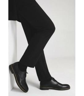 Hotiç Hakiki Deri Siyah Erkek Klasik Ayakkabı 02AYH166480A100