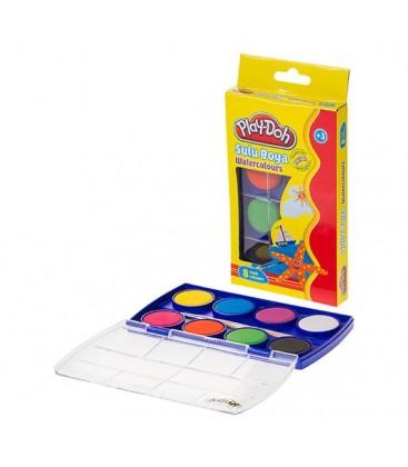 Play-Doh 8 Renk Sulu Boya 28 mm - PLAY-SU001