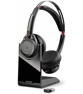 Plantronics POLY Voyager Focus UC B825-M Kulaklık Saç bandı Siyah Headset