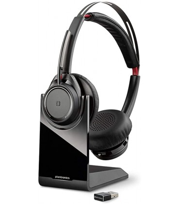 POLY Voyager Focus UC B825-M Kulaklık Saç bandı Siyah Headset