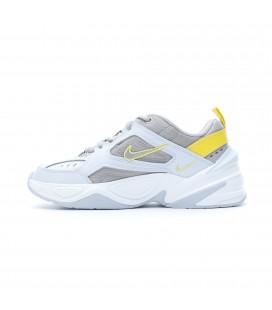 Nike M2K Tekno Beyaz-Gri Kadın Spor Ayakkabı AO3108-403