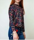 B&G Store Kız Çocuk Desenli Bluz 19FW1TJ4606