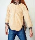 B&G Store Kız Çocuk Ekru Sweatshirt 19FW2TJ4524