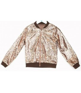 B&G Store Kız Çocuk Desenli Ceket 19FW2TJ4722