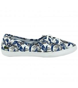 Lacoste ZIANE CHUNKY FUN Koyu Mavi BEYAZ Kadın Ayakkabı