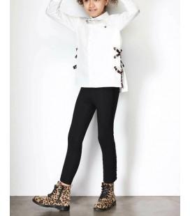 B&G Store Tyess Kız Çocuk Siyah Tayt 19FW0TJ4214