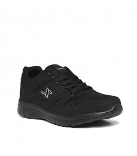X Step Erkek Siyah Spor Ayakkabı 020